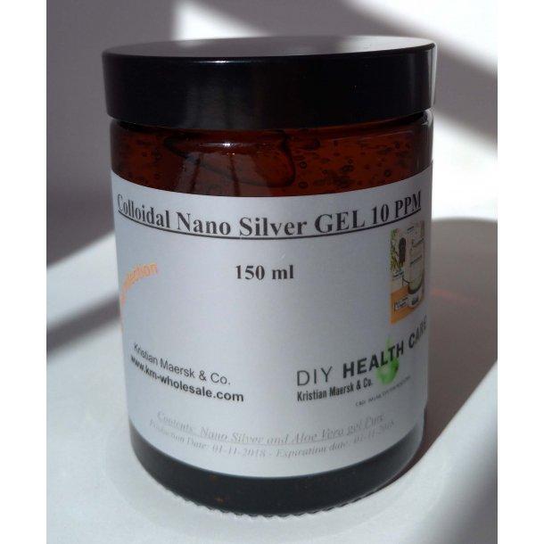 Colloidal Nano Silver Gel 10 PPM 150ml