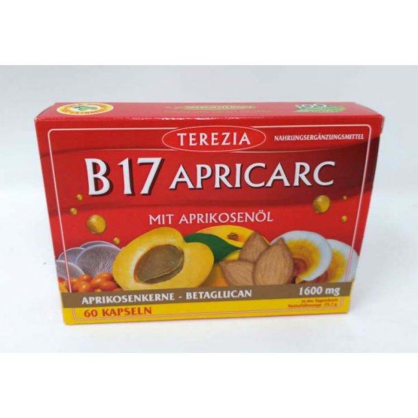 B17 Apricarc 60 Kapsler