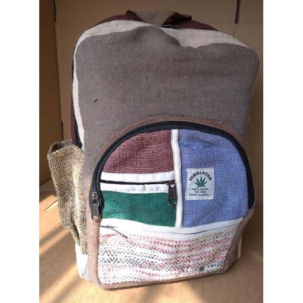 Himalayan Hampe rygsæk (Lysebrun, lyseblå Brun, Grøn, hvid rød sort)