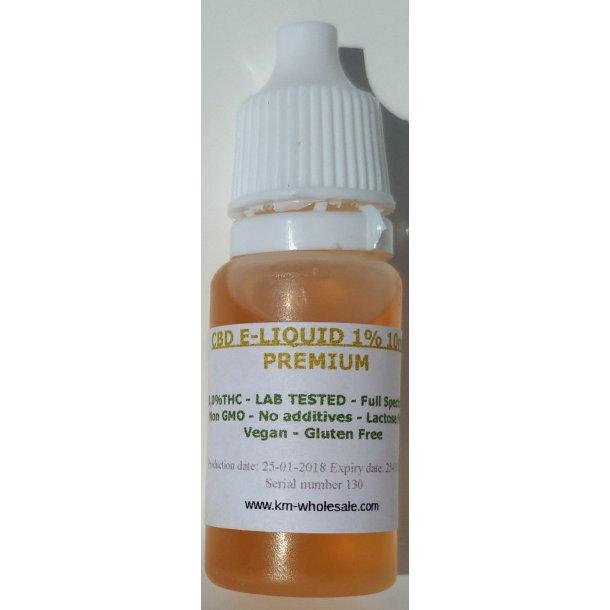 CBD E-LIQUID 1% 10ml Full Spectrum