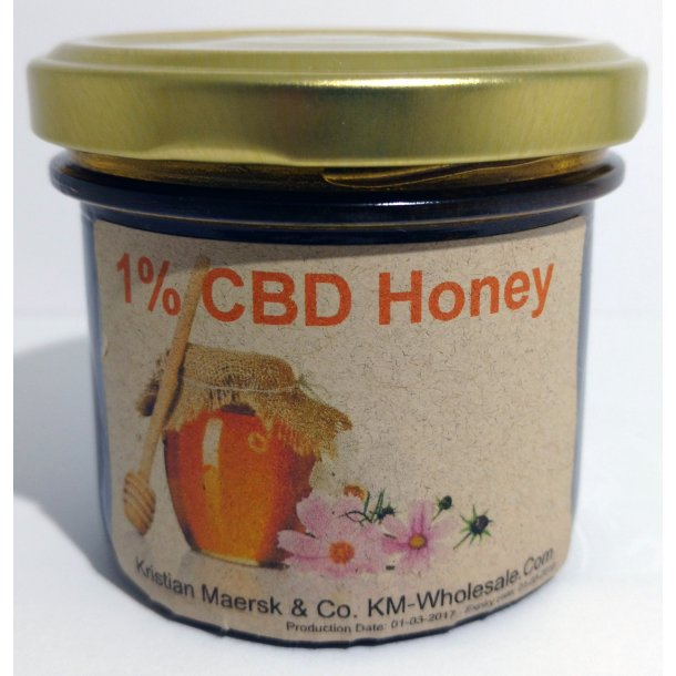 1% CBD Honning 200g